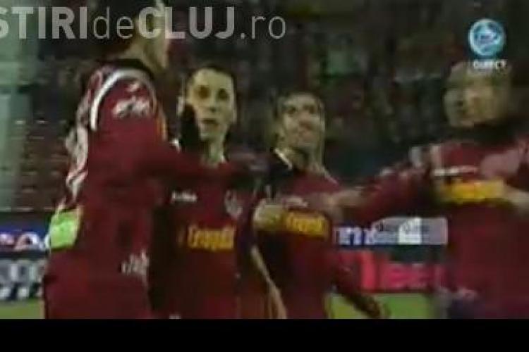 De Zerbi a inscris cel mai rapid gol al campionatului in meciul CFR Cluj - Gaz Metan Medias! VIDEO