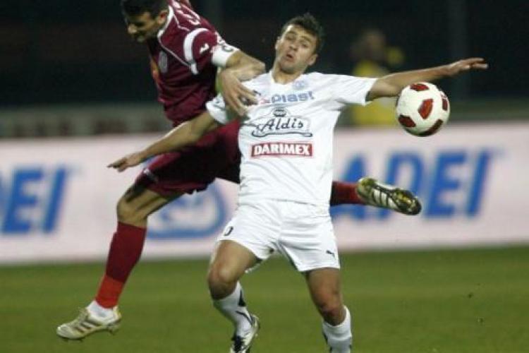 A innebunit Gigi Becali? Patronul Stelei vede blat la meciul Gloria Bistrita - CFR Cluj