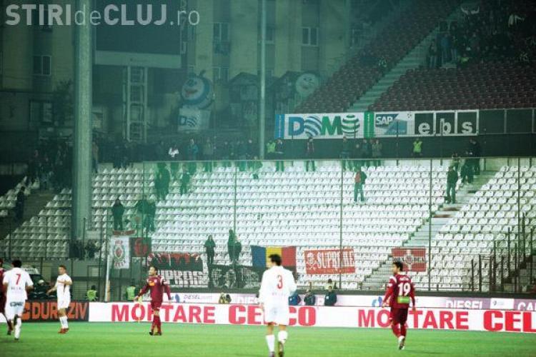 """Jandarmeria Cluj: """"Clubul CFR a vandut bilete numai in anumite sectoare! Suporterii lui Dinamo nu aveau bilete"""""""