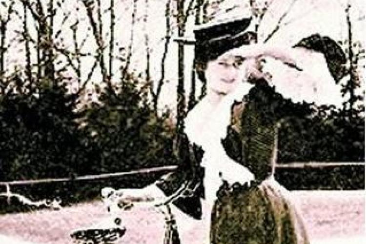 "Coana ""Mita Biciclista"" a existat si a fost o femeie foarte frumoasa!"