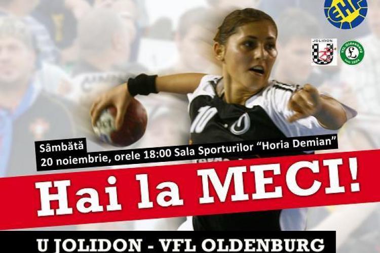 Biletele la meciul U Jolidon - VFL Oldenburg, puse in vanzare!