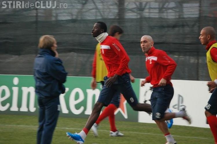 CFR Cluj a tras tare la ultimul antrenament, inaintea meciului cu Bayern - Galerie FOTO