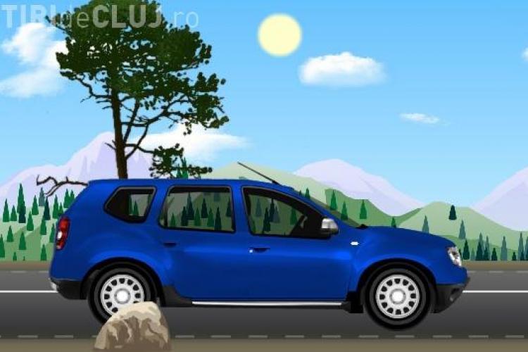 Dacia a lansat un joc pe internet cu masini fabricate in Romania