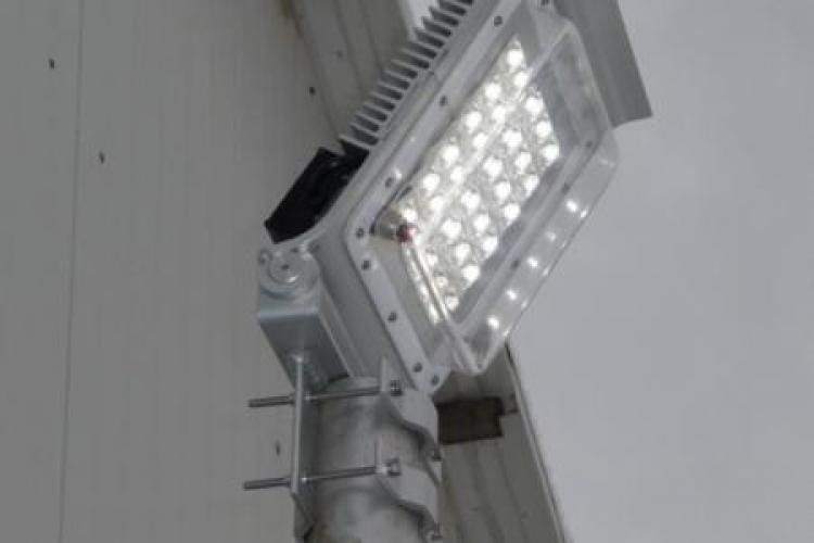 Comuna Mociu, prima din tara cu sistem de iluminat stradal cu Led -uri