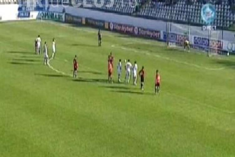 Bostina a ratat un penalty in meciul Sportul Studentesc - U Cluj! VIDEO