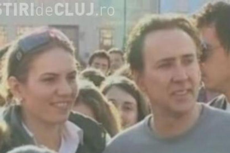 Nicolas Cage isi cumpara pamant in Cluj. Actorul a vizitat padurea Baciu si a fost incantat! - VIDEO