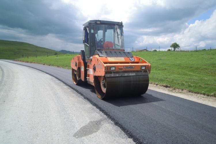 Încep lucrările pe Drumul Județean Petreştii de Jos - Lita
