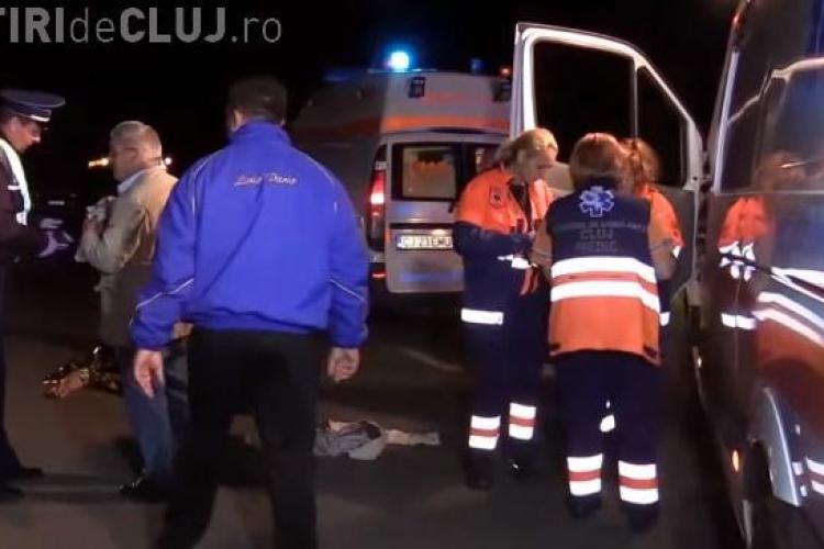 CLUJ: Accident mortal la Iclod. Cetățean austriac, RUPT în BUCĂȚI de un autoturism