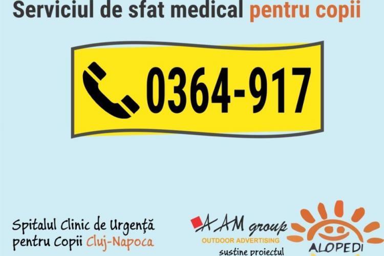 Cluj: ALOPEDI 0364-917, serviciul GRATUIT unde părinții pot cere sfaturi telefonice a împlinit doi ani de activitate