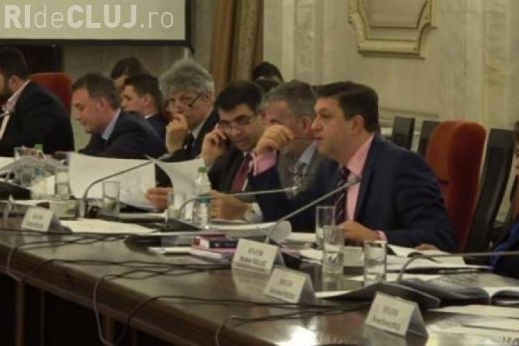 Proiectul de grațiere a corupților a fost respins acum de Comisia juridică din Senat