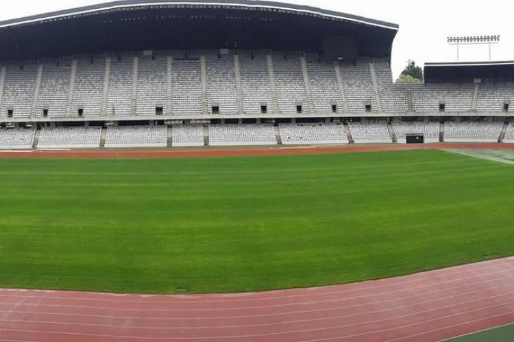 Cum arată gazonul de pe Cluj Arena înainte de meciul cu Chile