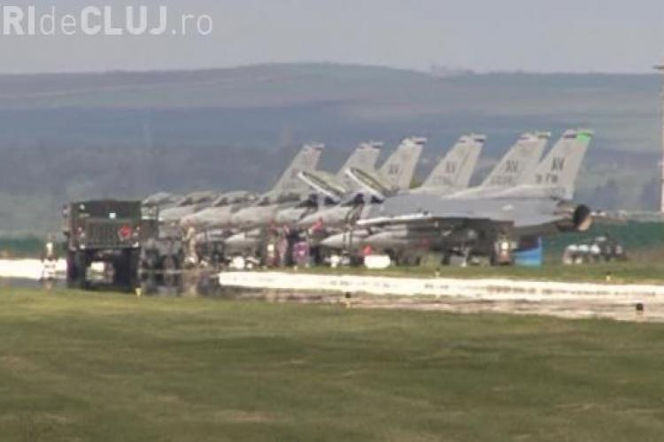 Trump anunță investiții în baza aeriană de la Câmpia Turzii