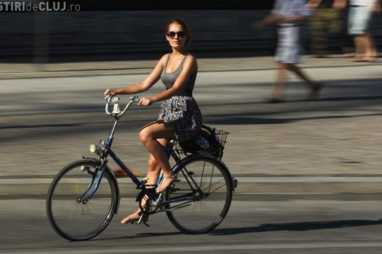 O biciclistă a fost amendată cu 1.740 de poliție. Ce reacţie a avut poliţistul Godină