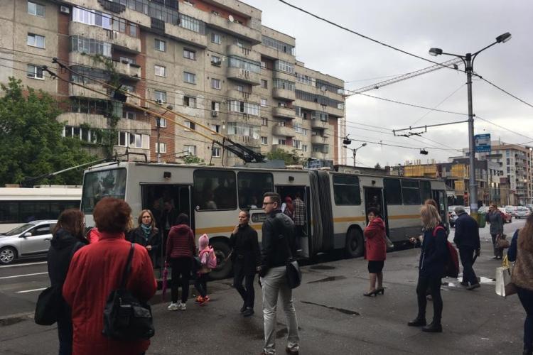 Cluj-Napoca: Așa se circulă în 2017 la ora 8:30 dimineața - FOTO