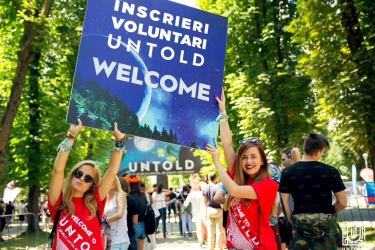 UNTOLD și NEVERSEA au început recrutarea de voluntari! Vezi cum te poți înscrie (P)