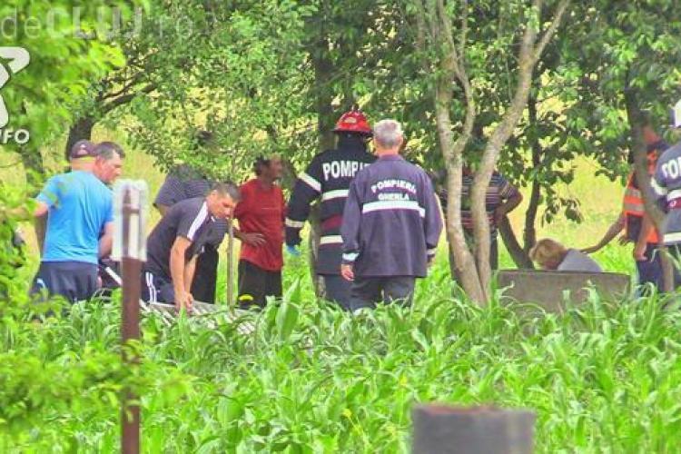 CLUJ: Tragedie la Gherla! O femeie a fost găsită moartă în fântână