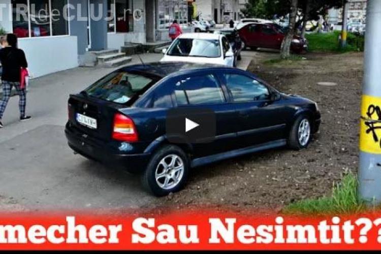 """Cluj: A parcat ca un """"șmecher"""" în Mărăști, dar oamenii aproape l-au luat la bătaie - VIDEO"""