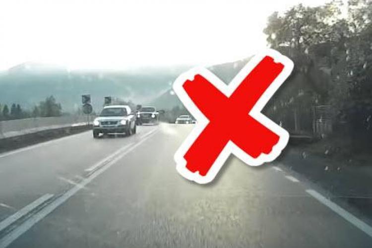 """Cluj: A înghețat când a văzut această scenă în trafic: """"Astea sunt clipuri demne de postat"""" - VIDEO"""