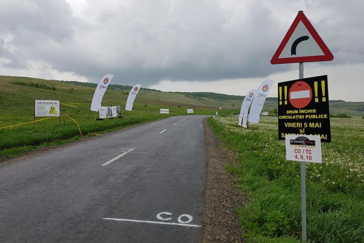 Traseul din Florești este pregătit de Transilvania Rally. Cum arată zona și care este SURPRIZA - VIDEO