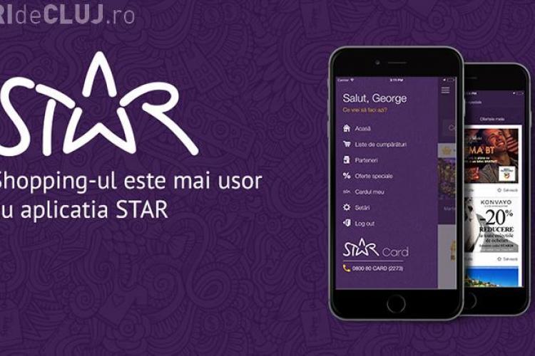 Banca Transilvania lansează aplicația de shopping STAR.card