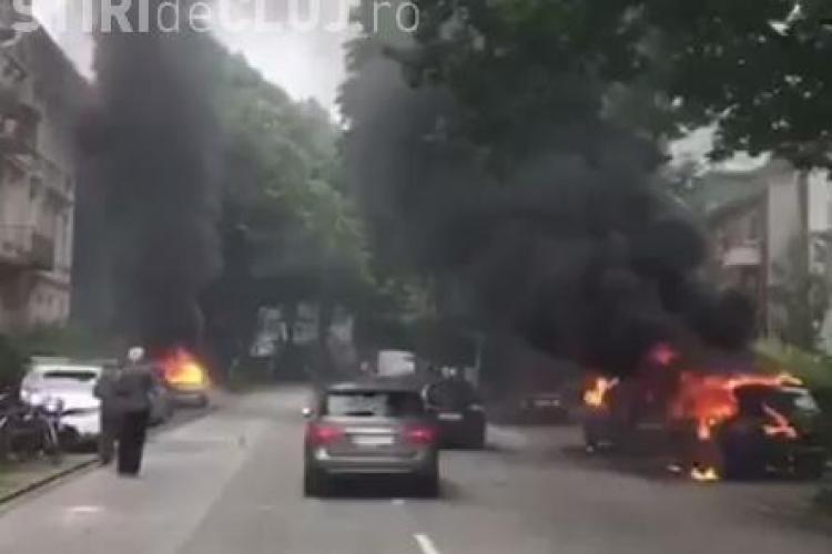 Haos la Hamburg, înainte summitului G20! Protestatarii au atacat hotelul la care stă Putin, iar nevasta lui Trump a rămas blocată