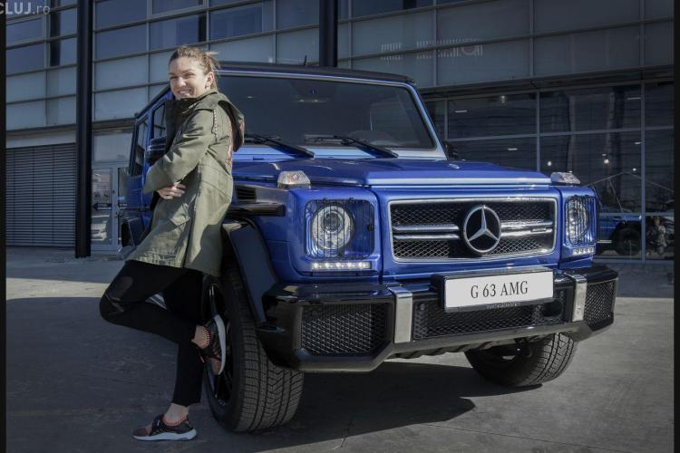 Ce super mașini are Simona Halep în garaj - FOTO