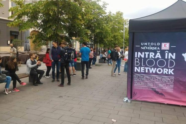 Peste 150 de tineri s-au înscris să doneze sânge pentru bilete la Untold sau Neversea