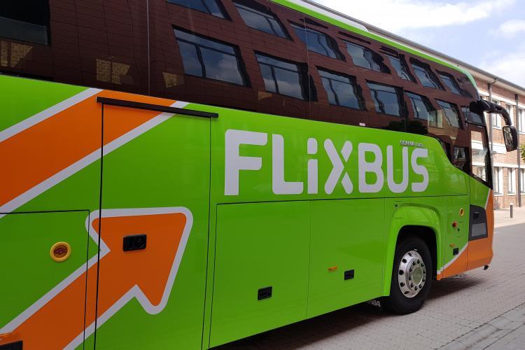 Bilete FlixBus la 1 LEU. Plecare din Cluj și alte destinații spre două importante capitale