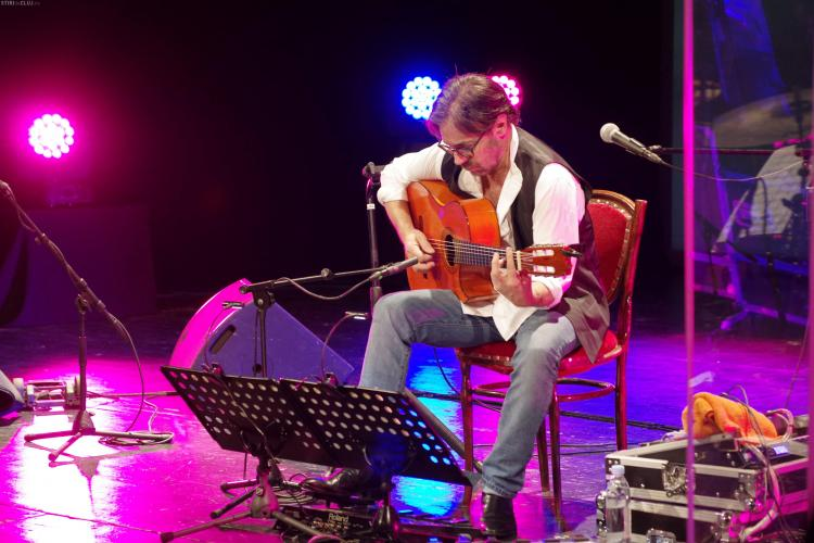 Al Di Meola a încălzit inimile clujenilor la concertul său organizat de Diesel Events