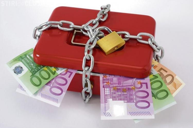ANAF poate pune poprire pe conturi în sistem online