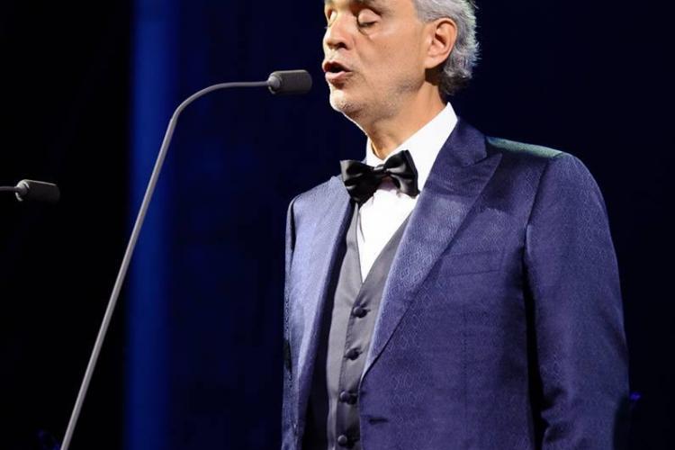 Prefectura Cluj: Au fost probleme în organizarea concertului Andrea Bocelli