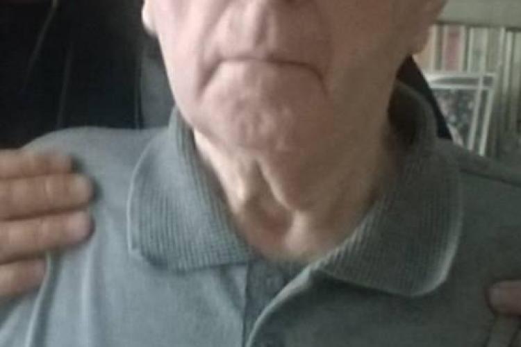 CLUJ: Bătrân bolnav de Alzheimer și Parkinson, dispărut de acasă, din cartierul Gheorgheni. L-ați văzut? FOTO