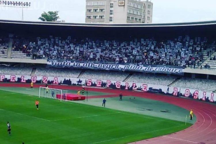 """Minunat! U Cluj e matematic în Seria a 3-a: Elogiu suporterilor lui """"U"""" - VIDEO"""
