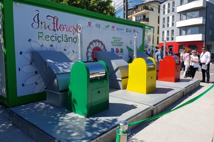 Florești: Centru automat de colectare a deșeurilor, inaugurat în comuna Florești, pe strada Someșului - VIDEO