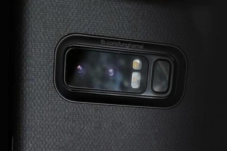 Au apărut primele imagini cu prototipul funcțional al noului Samsung Note 8. Vezi cum arată