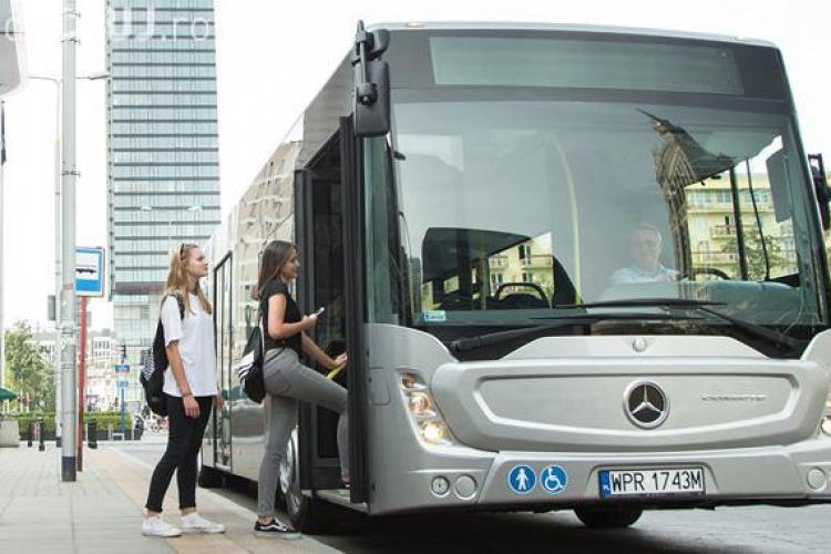 Clujul NU va mai cumpăra cele 50 de autobuze Mercedes. De ce a fost anulată licitația