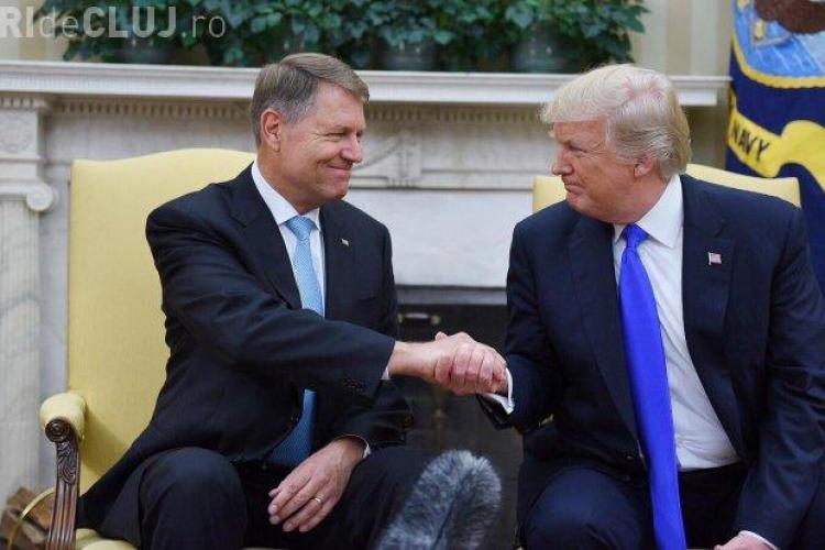 Klaus Iohannis se întâlnește din nou cu Donald Trump