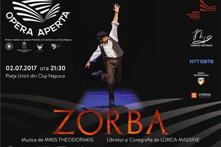 Opera din Cluj termină stagiunea în Piața Unirii, cu două spectacole eveniment