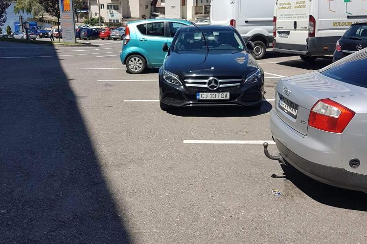 Cluj: Nu numai soferii de BMW sunt bizoni...
