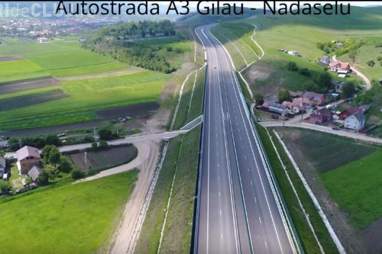 """Autostrada Transilvania, autostrada """"MUZEU"""" a Clujului - Ce firma va finaliza podul de la nodul Gilău"""