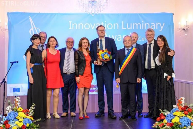 Clujul a primit premiul pentru inovare, la categoria orașe, din partea Comisiei Europene FOTO
