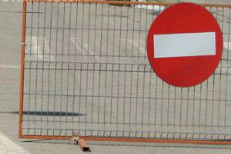 Trafic restricționat timp de 5 zile pe o stradă din Cluj. Vezi ce zonă să eviți