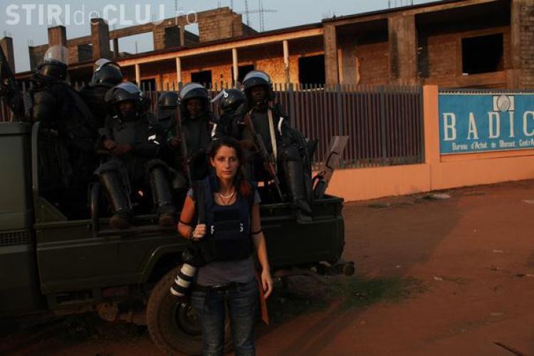Andreea Câmpeanu, clujeanca ce a lucrat ca fotojurnalist în războaiele din Africa