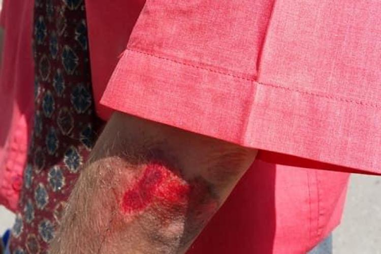 Pieton lovit în Mărăști, pe trecerea de pietoni / UPDATE Victima a refuzat să fie dusă la spital - FOTO