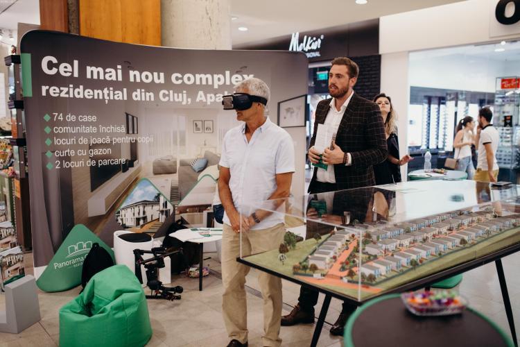 Primul proiect imobiliar din Cluj prezentat în realitate virtuală – Panorama Gardens Residence (P)