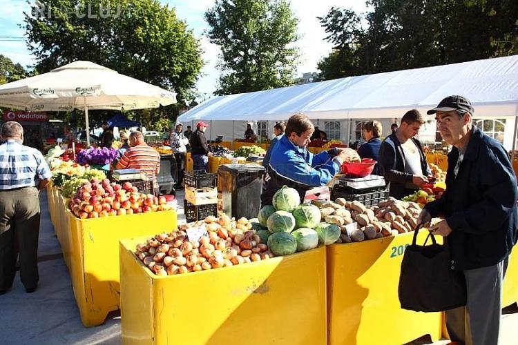 Cluj-Napoca: Se redeschide piaţa volantă din cartierul Gheorgheni