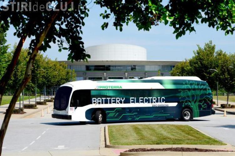 Cluj: Vin autobuzele electrice. Câte vor fi cumpărate
