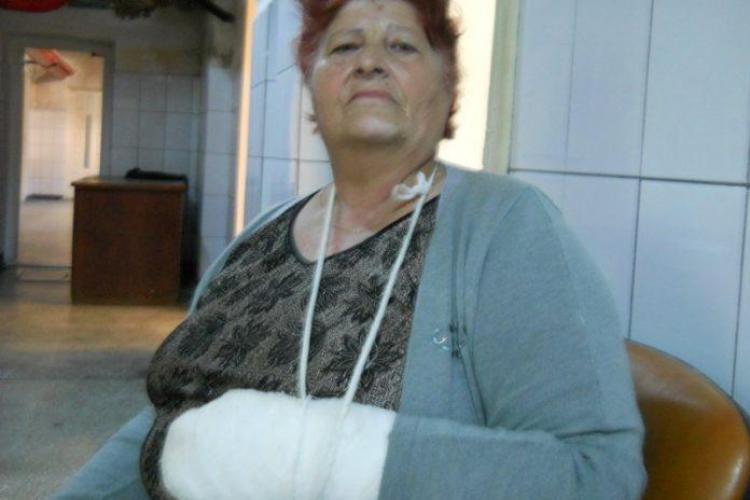 Romii fac legea în Oser! O femeie s-a ales cu braţul rupt pentru un loc la tarabă