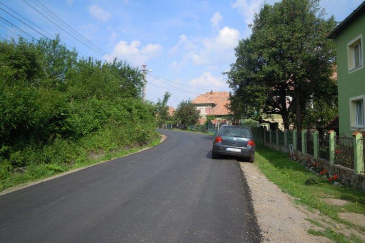 Lucrările de întreţinere pe raza localităţii Gheorgheni au intrat pe ultima sută de metri