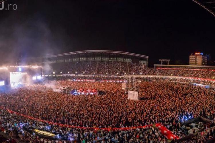 Clujul e asediat de Untold. 82 de mii de oameni la a doua zi